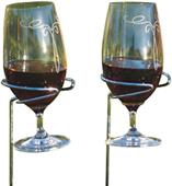Picnic Plus Wine Glass Handy Holders (Set of 2)