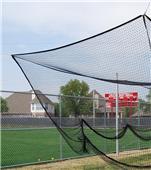 Gared 12'H x 12'W x 55'L Multi-Sport Cage Nets
