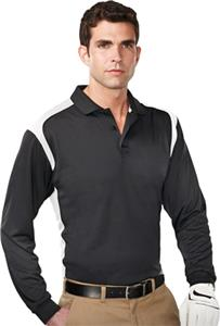 TRI MOUNTAIN Blitz Ultra Cool Long Sleeve Polo