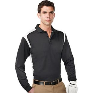 141299d49aa TRI MOUNTAIN Blitz Ultra Cool Long Sleeve Polo