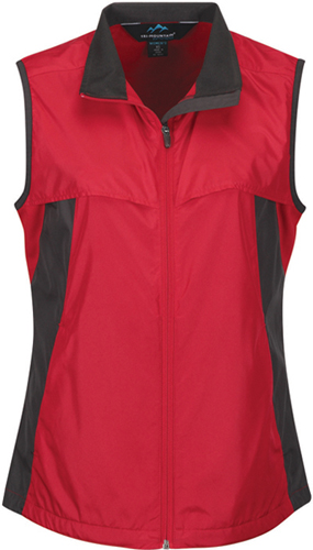 S Tri-Mountain Athlos Lightweight Windproof Vest BLACK//CHARCOAL