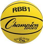 Champion Sports Heavy Duty Pro Rubber Basketballs