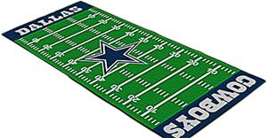 Fan Mats Dallas Cowboys Football Field Runner Fan Gear