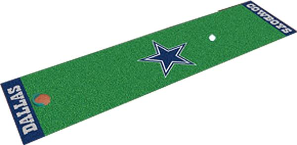 3f285d22bcfe71 Fan Mats Dallas Cowboys Putting Green Mat   Epic Sports