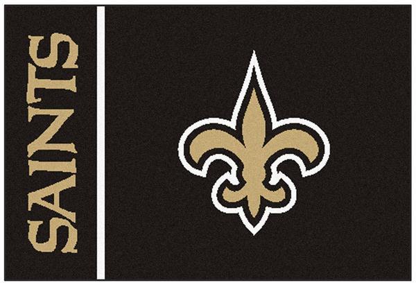 NFL New Orleans Saints 19 x 30 Starter Fanmats area rug carpet USA QUICK SHIP