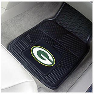 FANMATS NFL Green Bay Packers Nylon Face Team Carpet Tiles