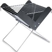 Picnic Time Portable Charcoal V-Grill with Tote