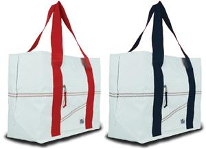 Sailorbags Large Sailcloth Tote Bags. Embroidery is available on this item.