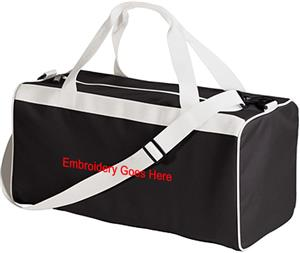 21 x10 x10 Heaveyweight Oxford Canvas Bag CO. Embroidery is available on this item.