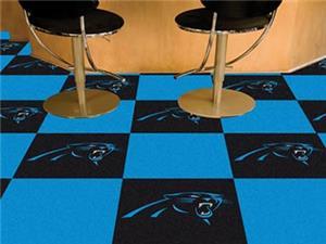 Fan Mats NFL Carolina Panthers Carpet Tiles
