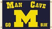 Collegiate Michigan Man Cave 3' x 5' Flag