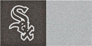 Fan Mats MLB Chicago White Sox Carpet Tiles