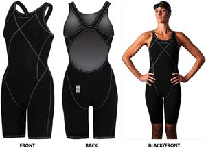 3cab291d31 Dolfin Swimwear FINA Platinum2 Knee Suit/Long Knee - Swimming Equipment and  Gear