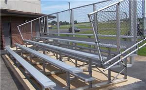 NRS 5 Row Aluminum Standard & Preferred Bleachers. Free shipping.  Some exclusions apply.