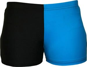 Gem Gear 4 Panel Turquoise Compression Shorts