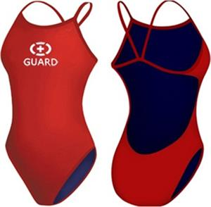 807c79d677 Adoretex Womens Lifeguard Open Back Swimsuit - Swimming Equipment ...