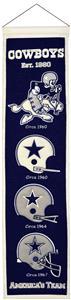 Winning Streak NFL Dallas Cowboys Heritage Banner