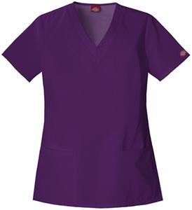 Dickies Women's EDS V-Neck Scrub Tops