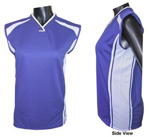 Womens Cap Sleeve Athletic Jerseys-Closeout