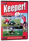 SOCCER KEEPER (DVD) soccer training & drills video