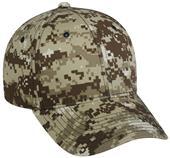 OC Sports Cotton Twill Digital Camo Cap