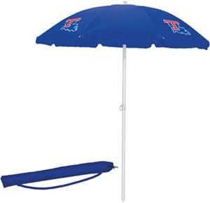 Picnic Time Louisiana Tech Sun Umbrella 5.5