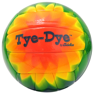 Baden Official Size Tye Dye Volleyballs
