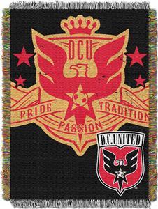 Northwest MLS DC United Handmade Tapestry Throw