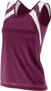Augusta Ladies Wicking Tank w/ Shoulder Insert