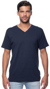 Royal Apparel Mens Organic Short Sleeve V-Neck Tee