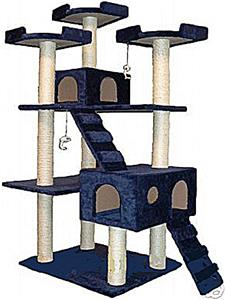 Go pet club 72 cat tree condo playground equipment and gear for Epic cat tree