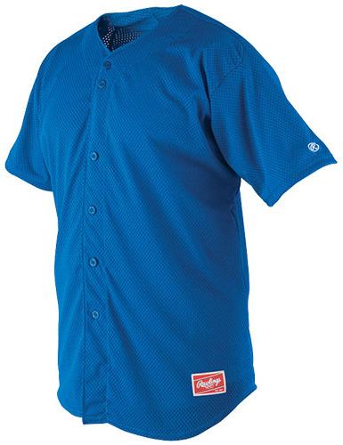 finest selection 71f12 24c89 Rawlings Pindot Mesh Baseball Jerseys RBJ167
