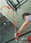 Bison Basketball Power Drive Shaft Height Adjuster
