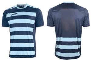 fbed33f69 Joma Europa II Short Sleeve Crew Custom Soccer Jersey - Soccer ...