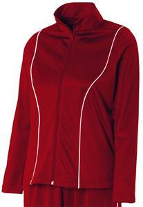 A4 Women's Full-Zip w/Side Pockets Warm-Up Jackets - Closeout