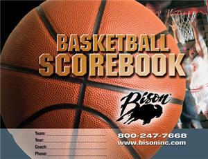 Bison Basketball Team Scorebook