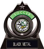"""Hasty Awards Eclipse 6"""" Bust-Out Soccer Trophy"""
