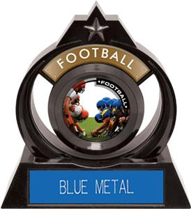 """Hasty Awards Eclipse 6"""" P.R.1 Football Trophy"""