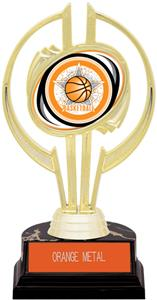 "Gold Hurricane 7"" All-Star Basketball Trophy"