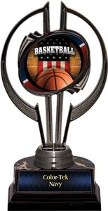 "Black Hurricane 7"" Patriot Basketball Trophy"