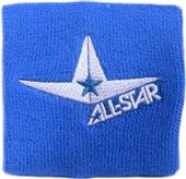 """ALL-STAR 3.5"""" Double Width Wristband (Pairs)"""