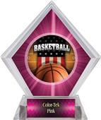 Awards Patriot Basketball Pink Diamond Ice Trophy