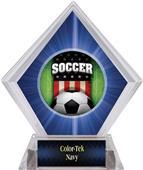 Awards Patriot Soccer Blue Diamond Ice Trophy