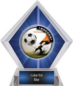 Awards P.R. Male Soccer Blue Diamond Ice Trophy