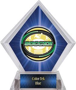 Awards Classic Soccer Blue Diamond Ice Trophy