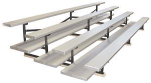 FanStand Outdoor Bleachers Single/Double Plank