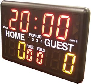 basketball timer and scoreboard with buzzer