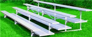 Jaypro All Aluminum 3 Row 21' Preferred Bleacher
