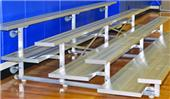 Jaypro 3 Row 27' Tip & Roll Preferred Bleacher