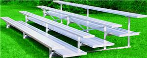Jaypro All Aluminum 4 Row 27' Preferred Bleacher